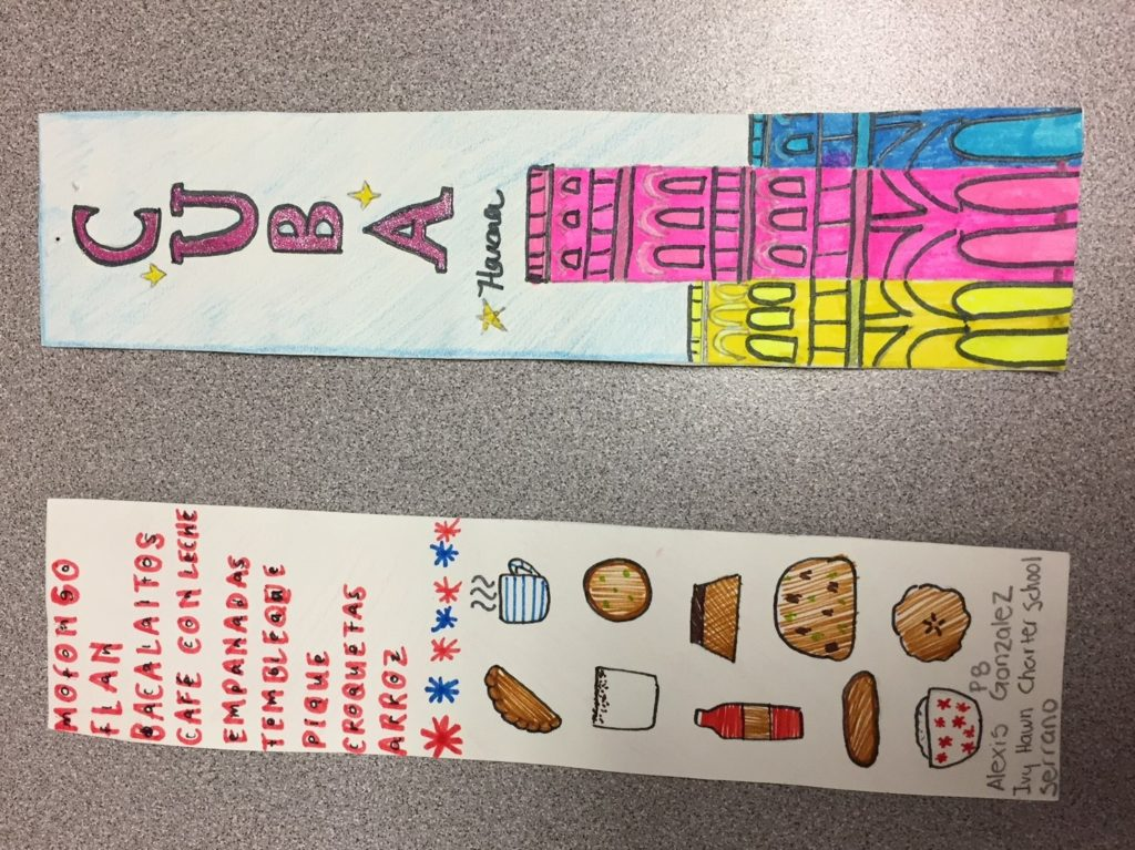 2nd Place World Lang Fest Bookmark2